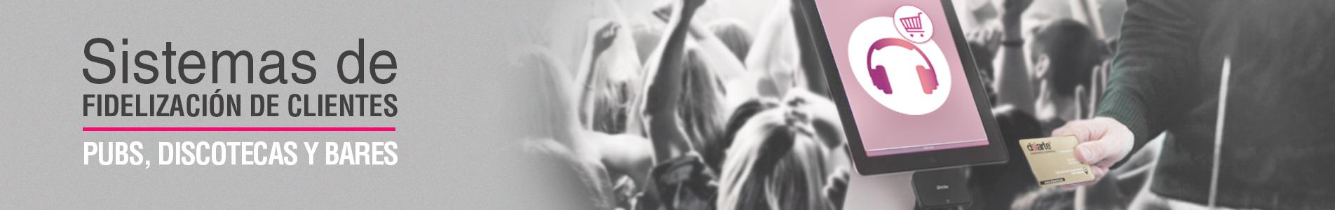 Soluciones de fidelidad con tarjetas para discotecas, bares y pubs programas de lealtad