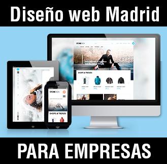 Diseño web madrid para empresas