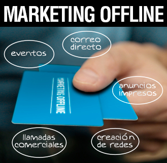 Marketing offline Albacete, marketing convencional