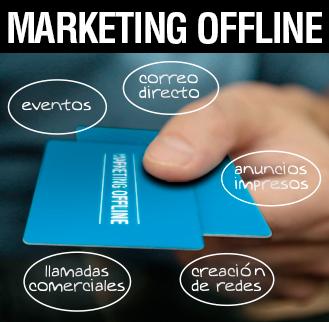 Marketing offline Albacete, marketing convencional