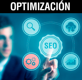 Optimización SEO, optimización para posicionamiento natural en buscadores.