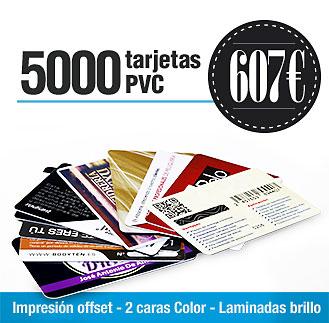 Precio 5000 tarjetas PVC Precio 5000 tarjetas plásticas