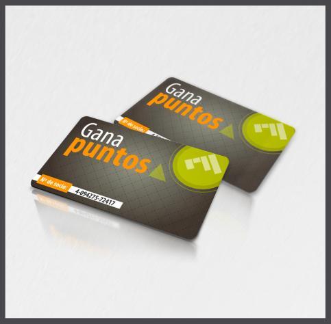Tarjetas de puntos tarjetas de gestion de puntos