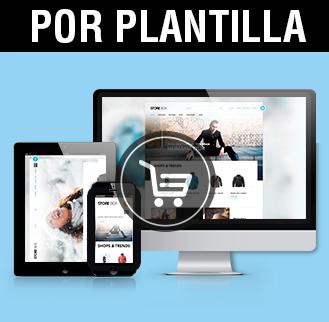 Plantillas tienda online, diseño tiendas online Albacete, imagen