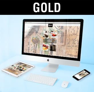 Diseño web, programación web, diseño páginas web gold, imagen
