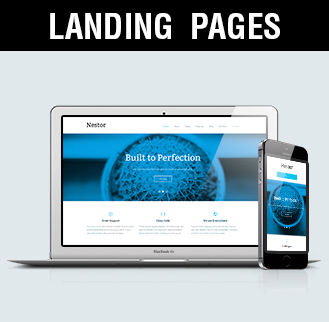 landing pages diseño de landing pages Madrid, Albacete, Valencia, Alicante
