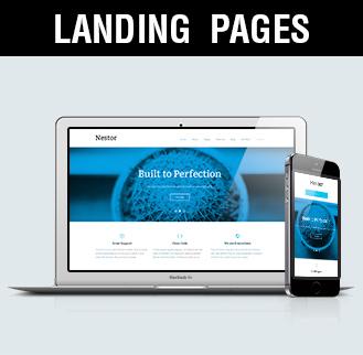 landing pages diseño de landing pages Madrid, Albacete, Valencia, Alicante