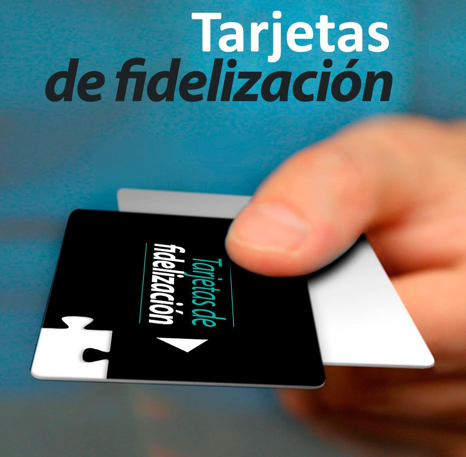 Impresión tarjetas de fidelización y fidelidad de clientes
