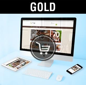 Tiendas online diseño tiendas online gold, imagen