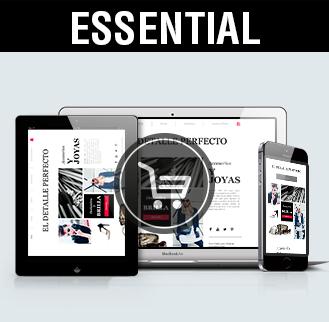 Tienda online essential, diseño tiendas online Albacete, imagen