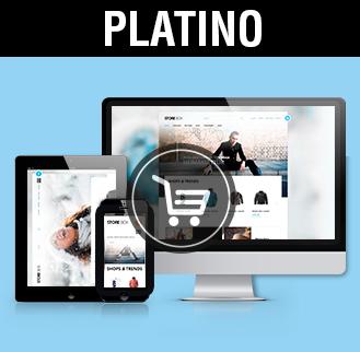 Tiendas online diseño tiendas online platino, imagen