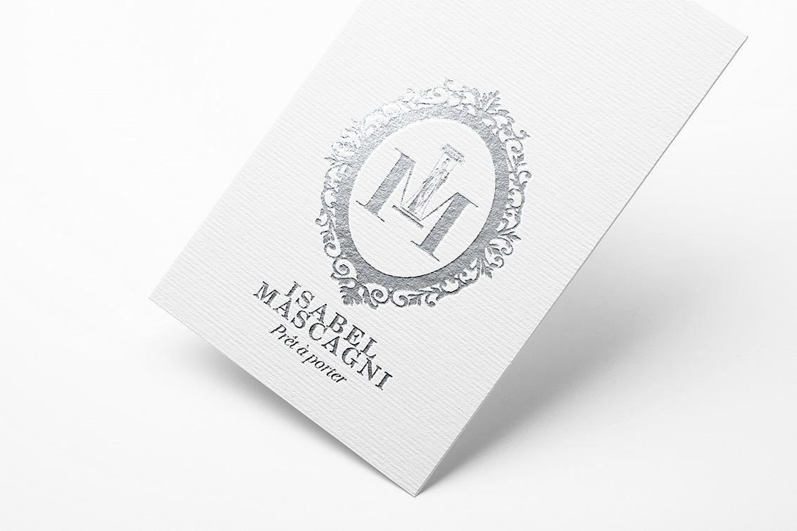 Diseño gráfico, diseño gráfico Albacete, branding, Isabel Mascagni Couture
