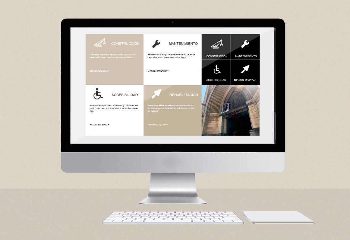 Diseño web Albacete, programación y posicionamiento página web Cotealba