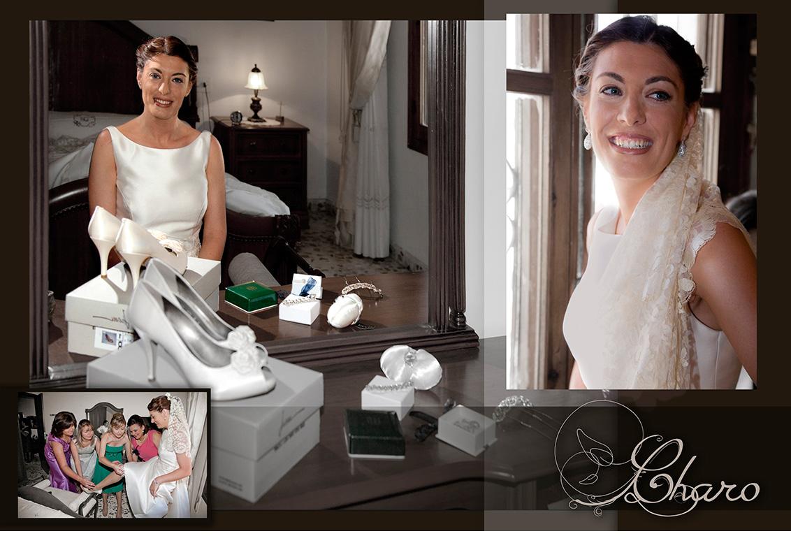 Fografía bodas Albacete. Fotos de la boda Javier y Charo