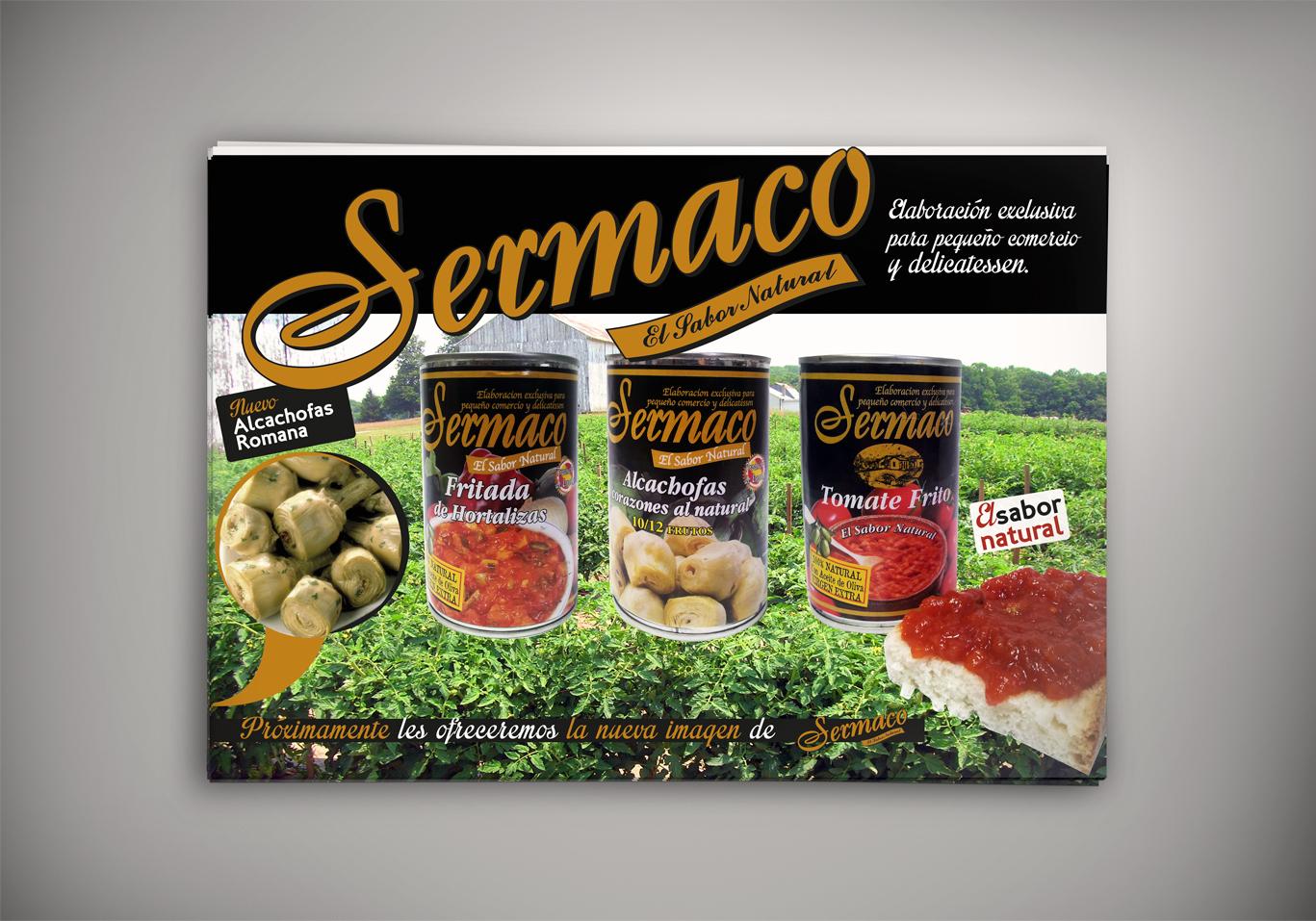 Impresión de cartelería y tarjetas para Sermaco