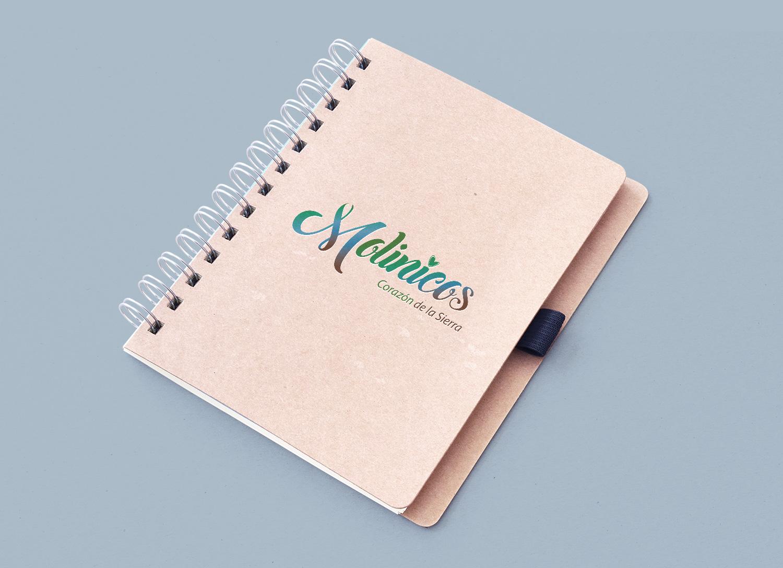 Diseño Gráfico, bloc notas, imprenta y merchandising Molinicos