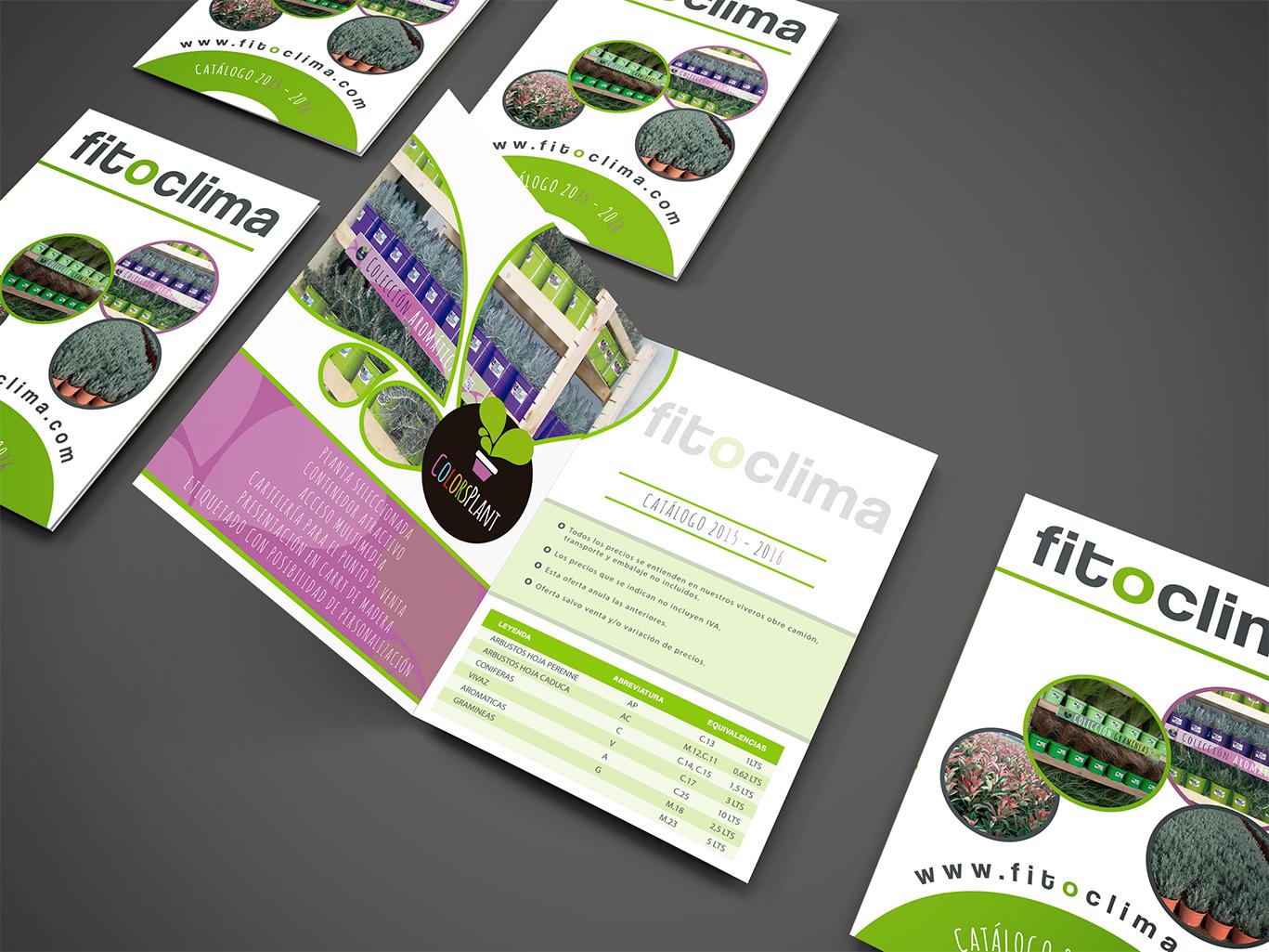 Diseño de Catálogos, imprenta, imprenta de catálogos Fitoclima