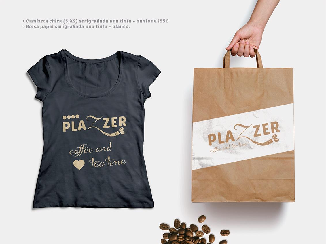 Regalos publicitarios, diseño gráfico, diseño merchandising, diseño de productos de Plazzer coffe and tea