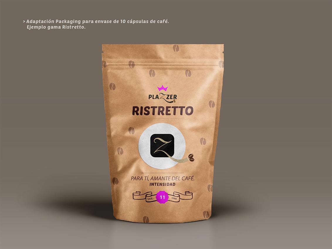 Agencias diseño packaging Albacete, Estudios de diseño gráfico Albacete, diseño grafico Albacete packaging de productos de Plazzer coffe and tea