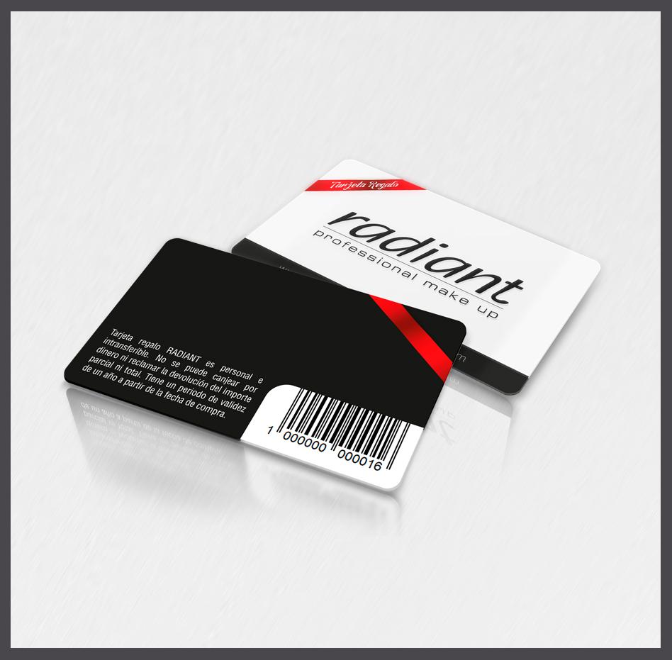 Tarjetas con código de barras, tarjetas con códigos de barras