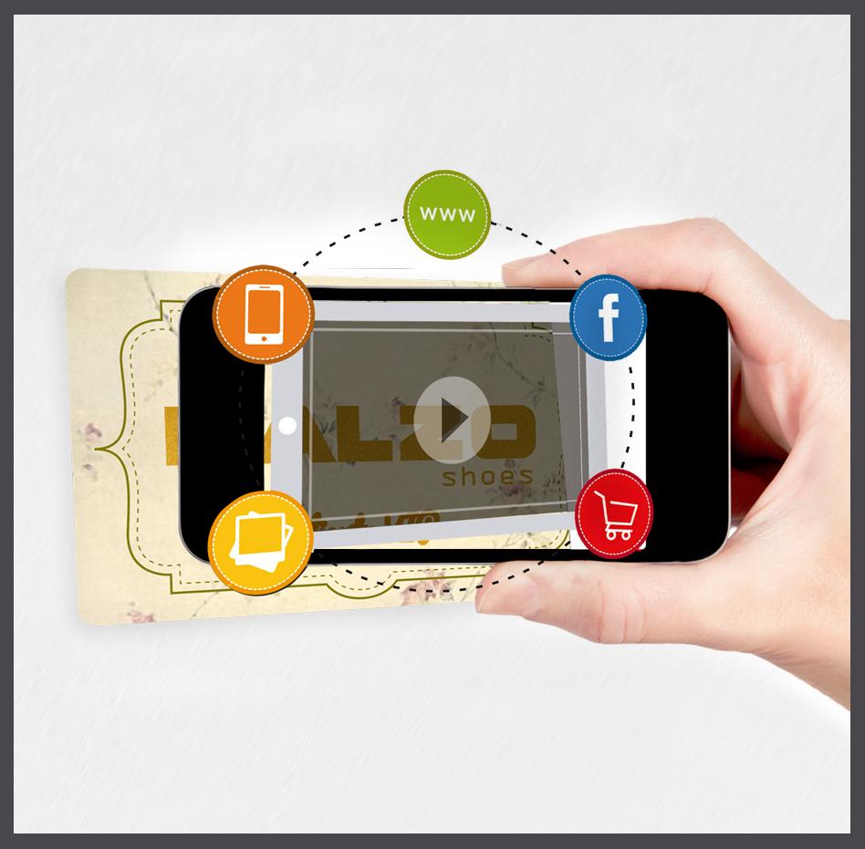 Tarjetas plasticas de pvc con realidad aumentada, diseño gráfico Albacete, realidad aumentada en tarjetas plásticas