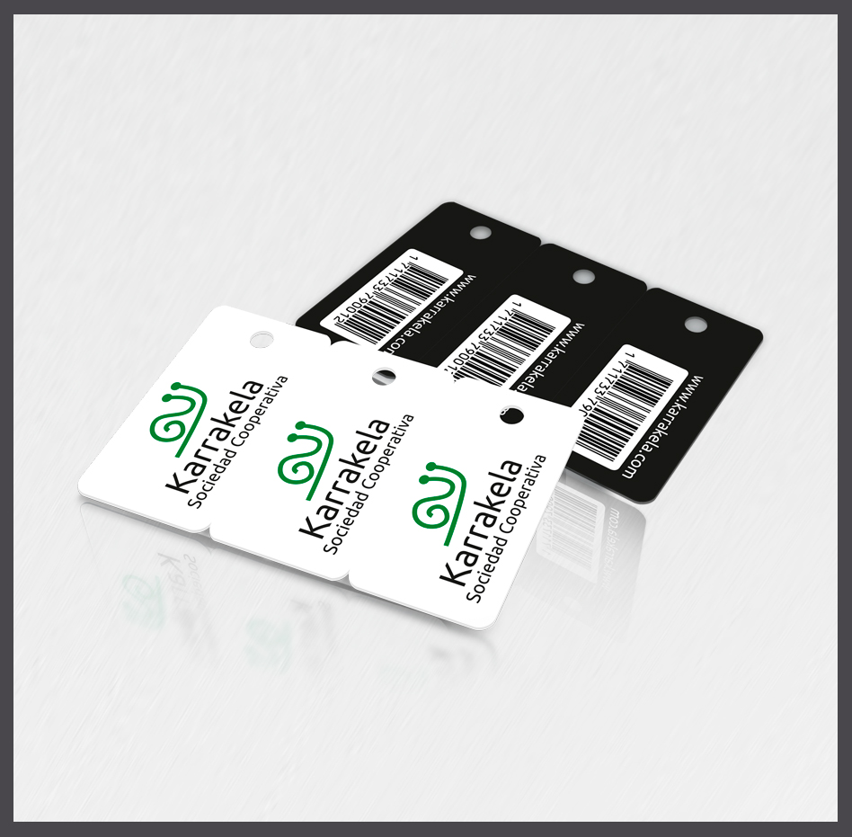 Tarjetas  llavero, tarjetas plásticas llavero