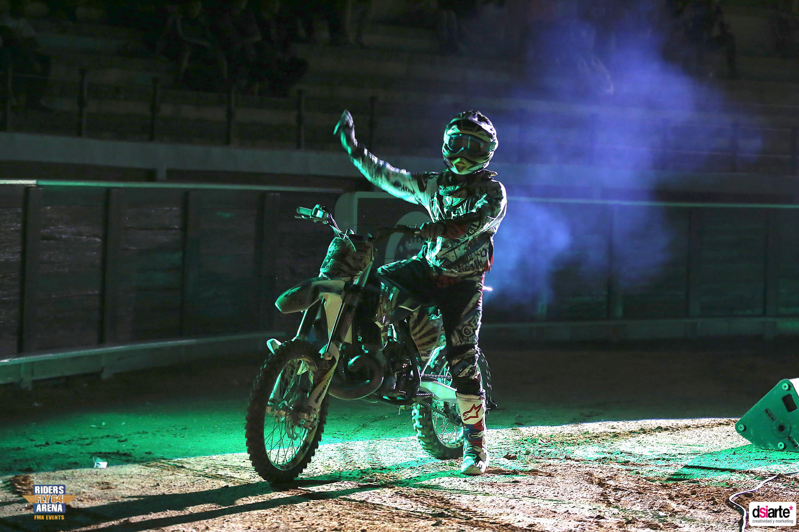 Fotografía de eventos Albacete Summer Night Tour 2015, freestyle motocross cup 2015, ryders fly arena
