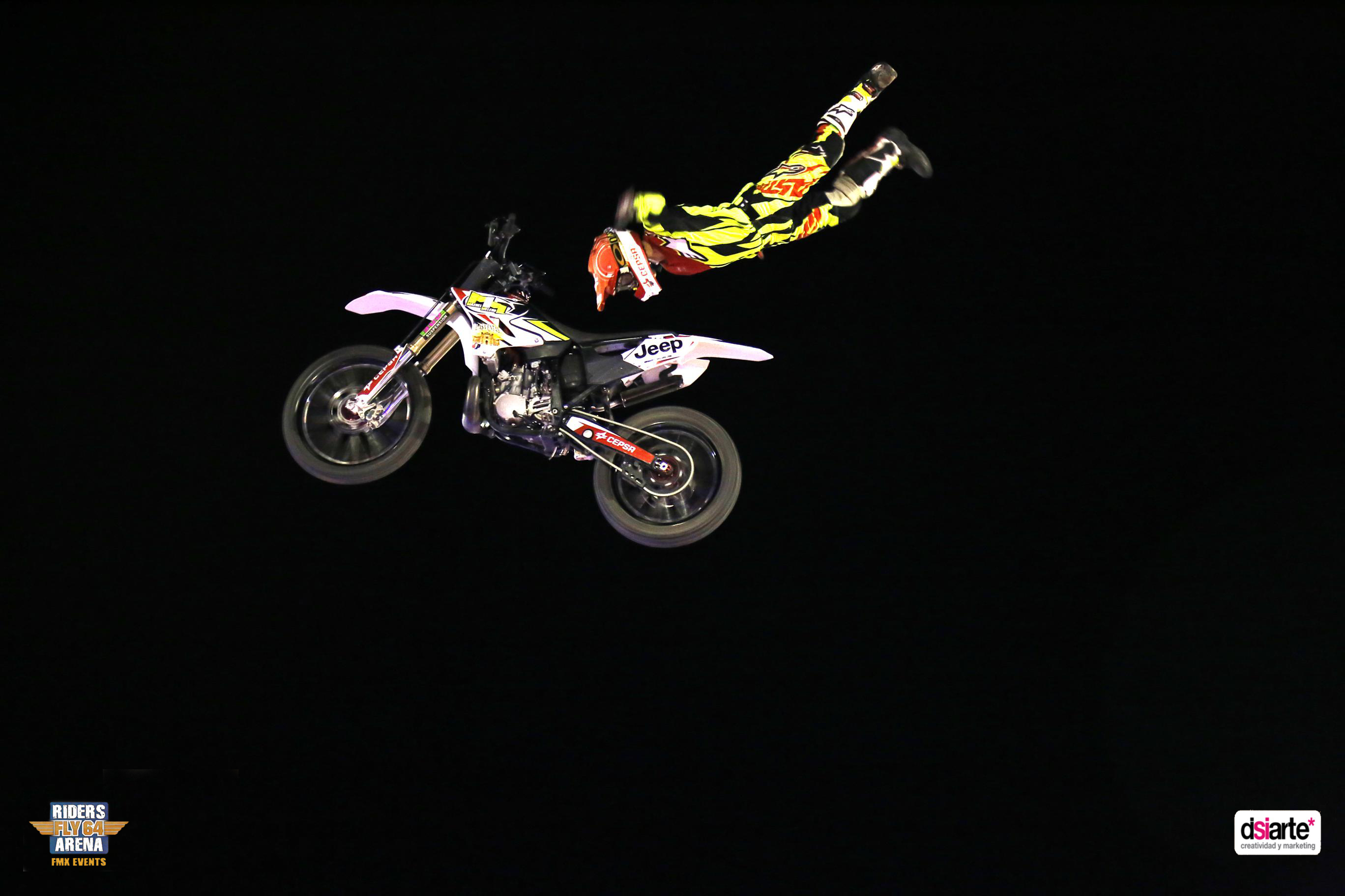 Fotografía publicitaria Albacete, Summer Night Tour 2015, freestyle motocross cup 2015