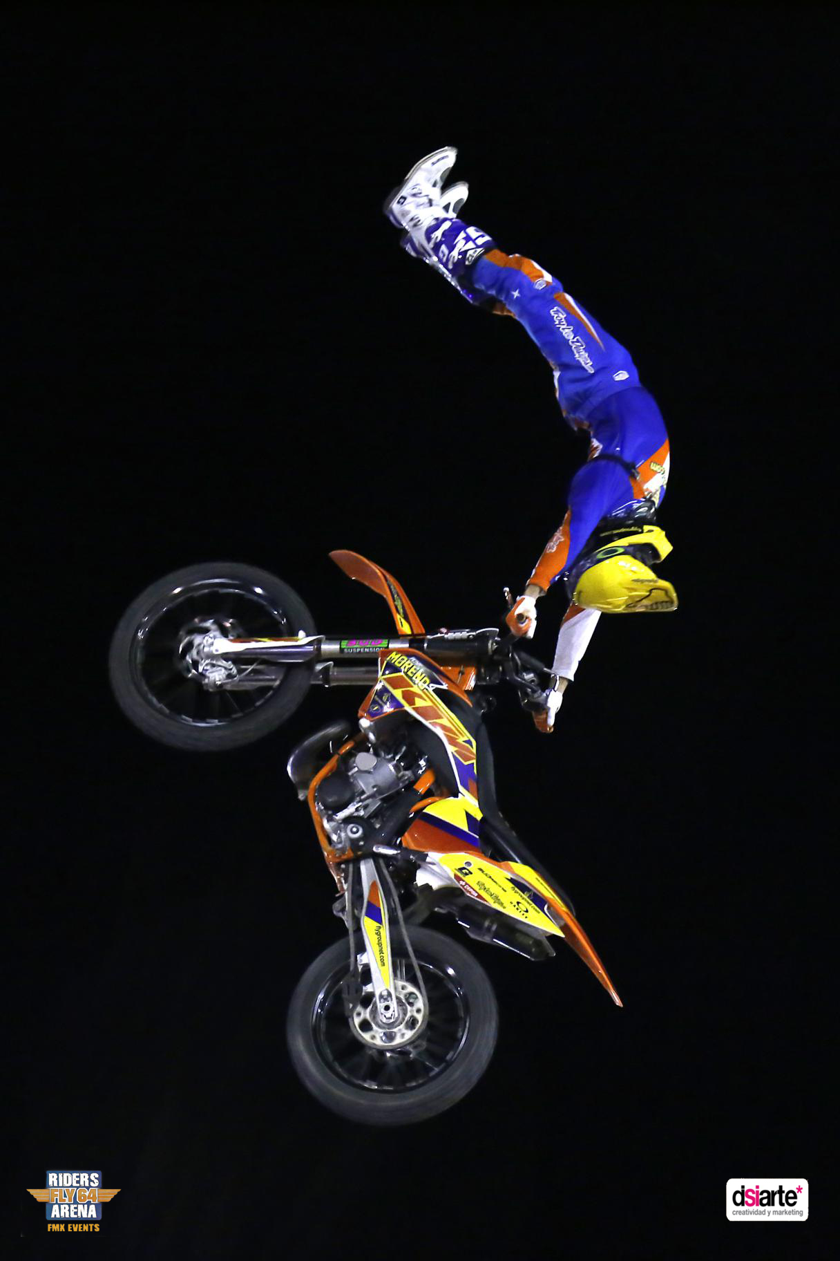 Fotografía publicitaria de eventos en Albacete Summer Night Tour 2015, freestyle motocross cup 2015