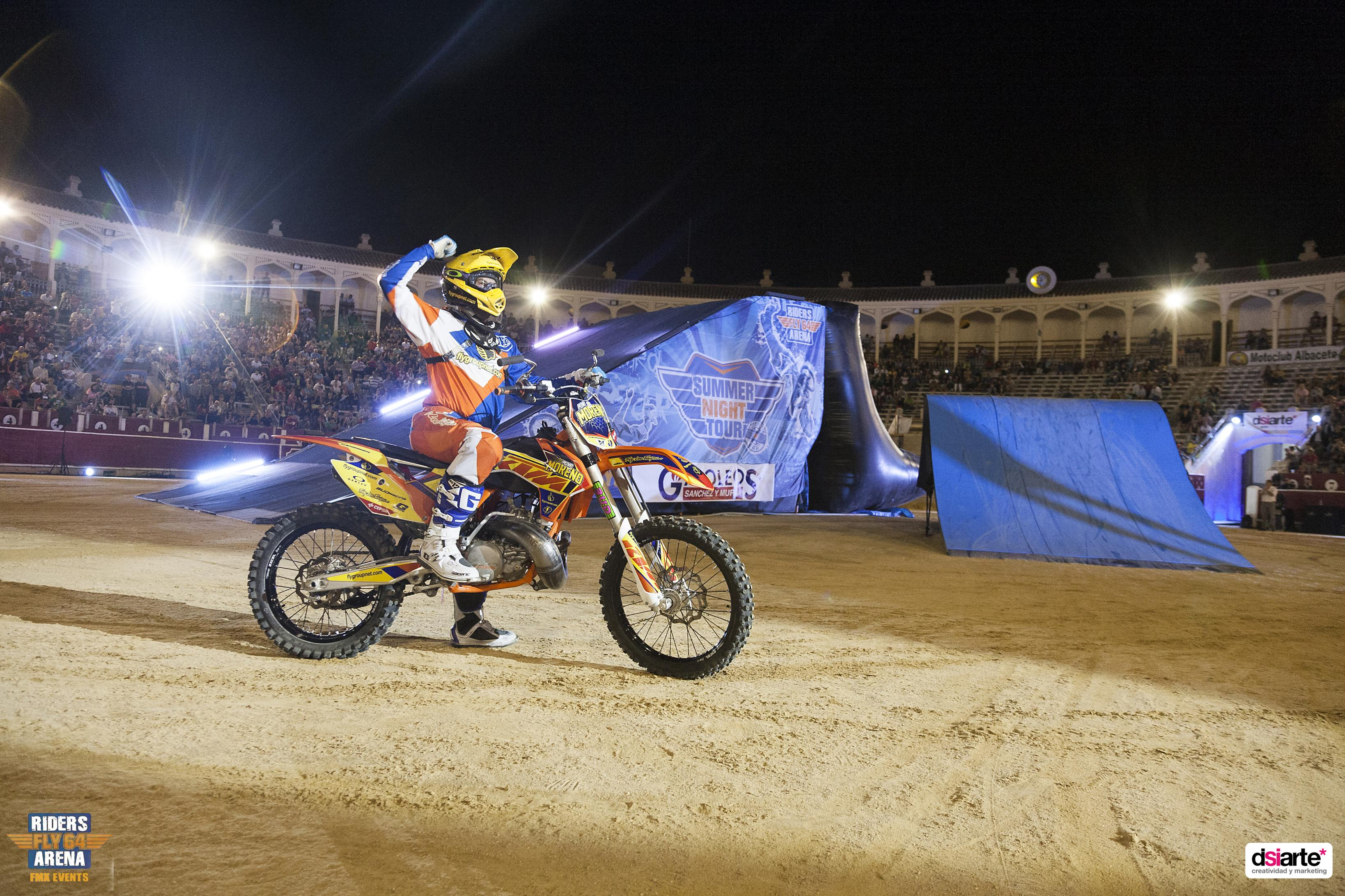 Fotografía de eventos y espectaculos Albacete Summer Night Tour 2015, freestyle motocross cup 2015