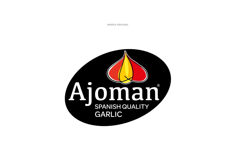Diseño gráfico, branding,restyling de logotipo Ajoman