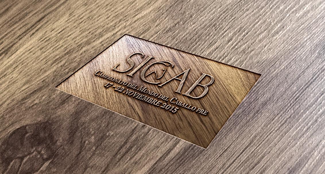 Mocap, diseño grafico, diseño 3D del logotipo de SICAB realizado por el estudio de diseño gráfico de Albacete Disiarte
