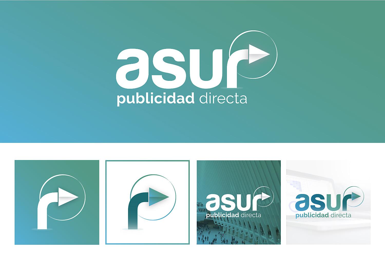 Diseño grafico, identidad corporativa Asur