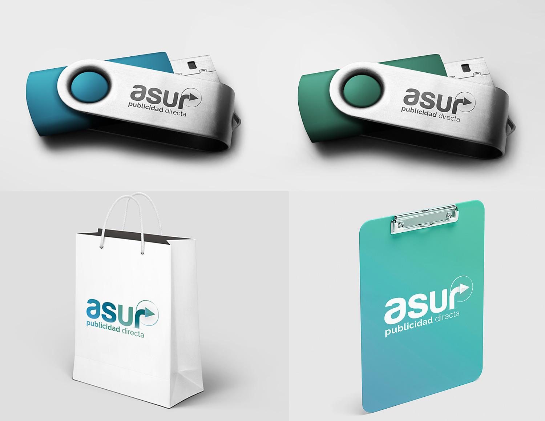 Diseño gráfico Albacete, diseño gráfico y diseño de marca Asur