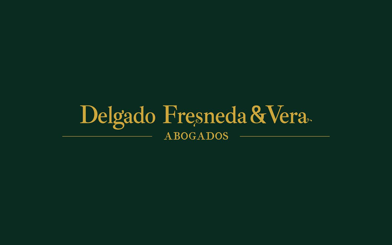 Diseño gráfico, identidad corporativa en Albacete para Delgado Fresneda & Vera Abogados