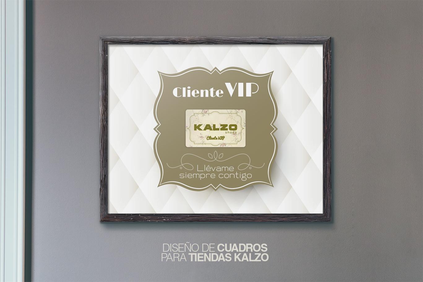 Diseño gráfico, diseño grafico Albacete, diseño de cuadros, cuadros para tarjetas pvc de zapaterías Kalzo