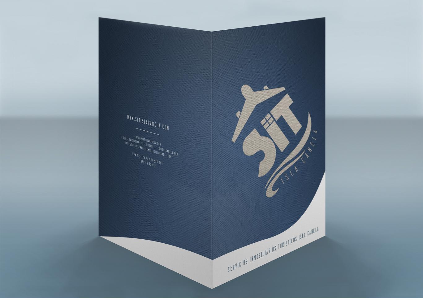 Diseño gráfico, agencias diseño, agencias diseño grafico, Branding e identidad corporativa, diseño carpeta corporativa, SIT Isla Canela