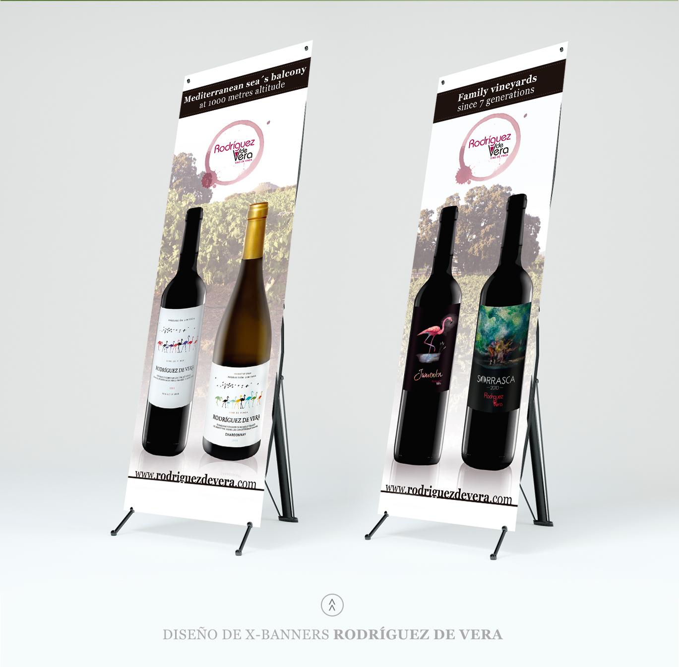Diseño gráfico Albacete, diseño publicitario, diseño de x-banners, impresión de lonas, impresión de x-banners, Rodríguez de Vera