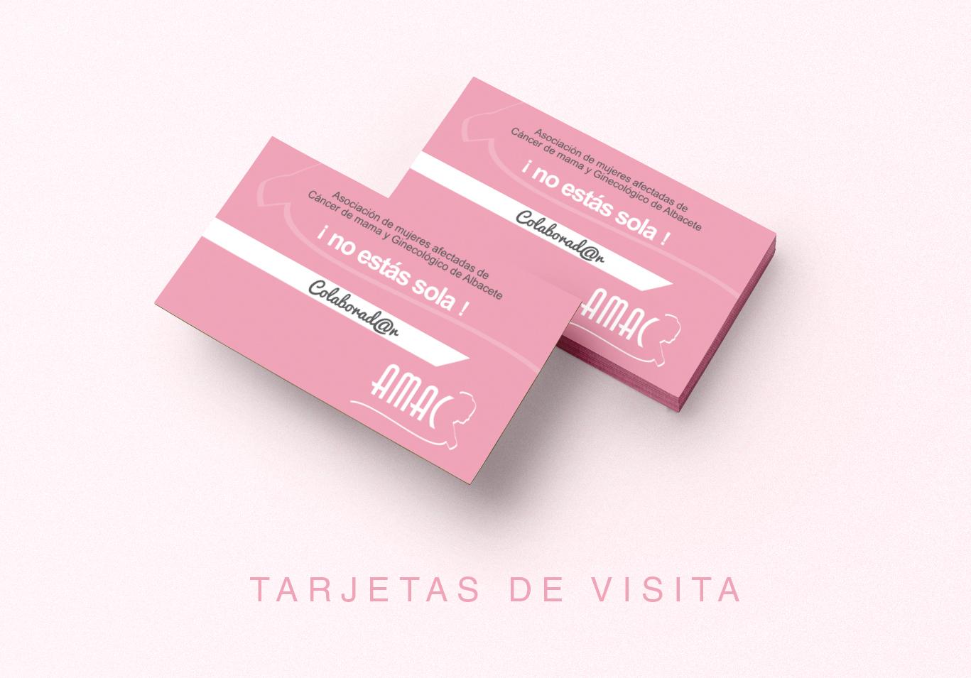 Diseño gráfico, diseño grafico Albacete, diseño de tarjetas de visita e imprenta de tarjetas de visita AMAC