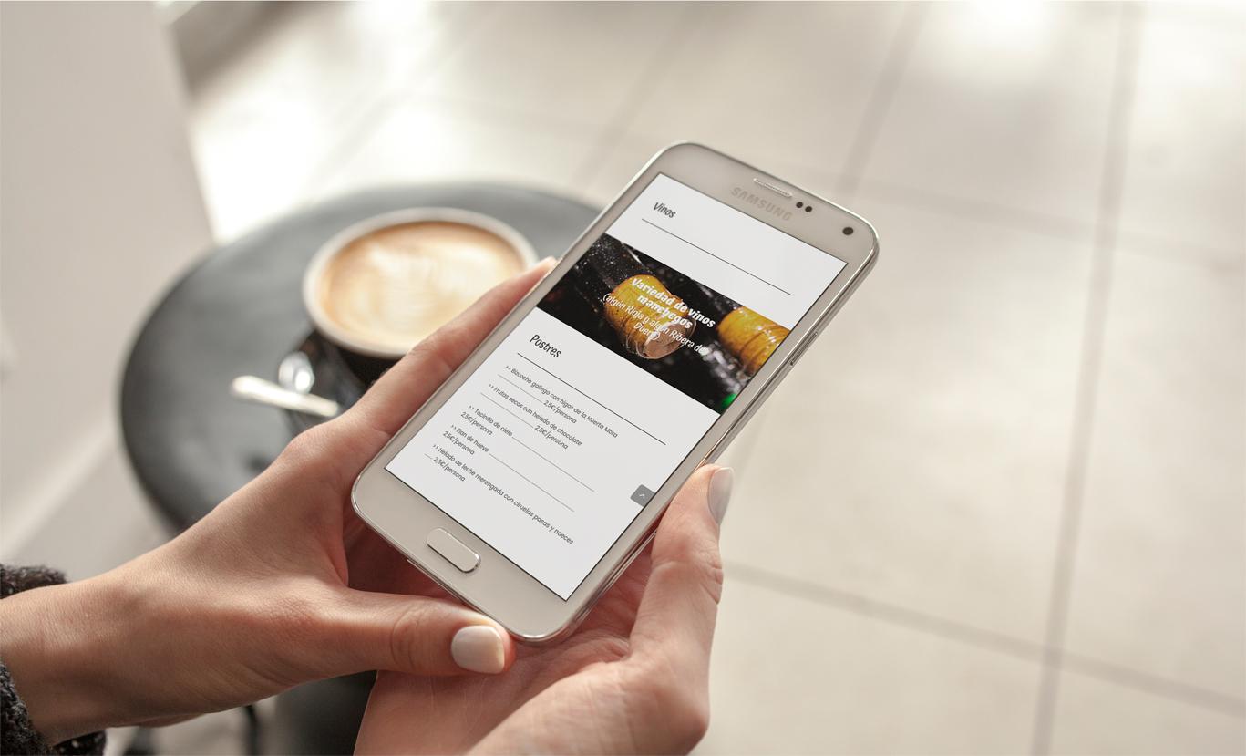 iseño web y programación de página web reponsive a medida para Casa de comidas El Jaro