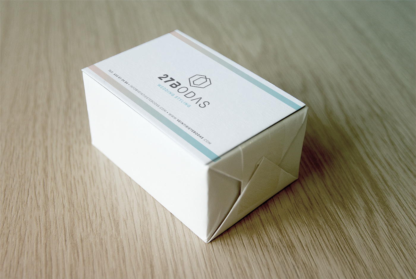 Diseño grafico Albacete, imprenta Albacete, packaging empresa Albacete, 27 bodas