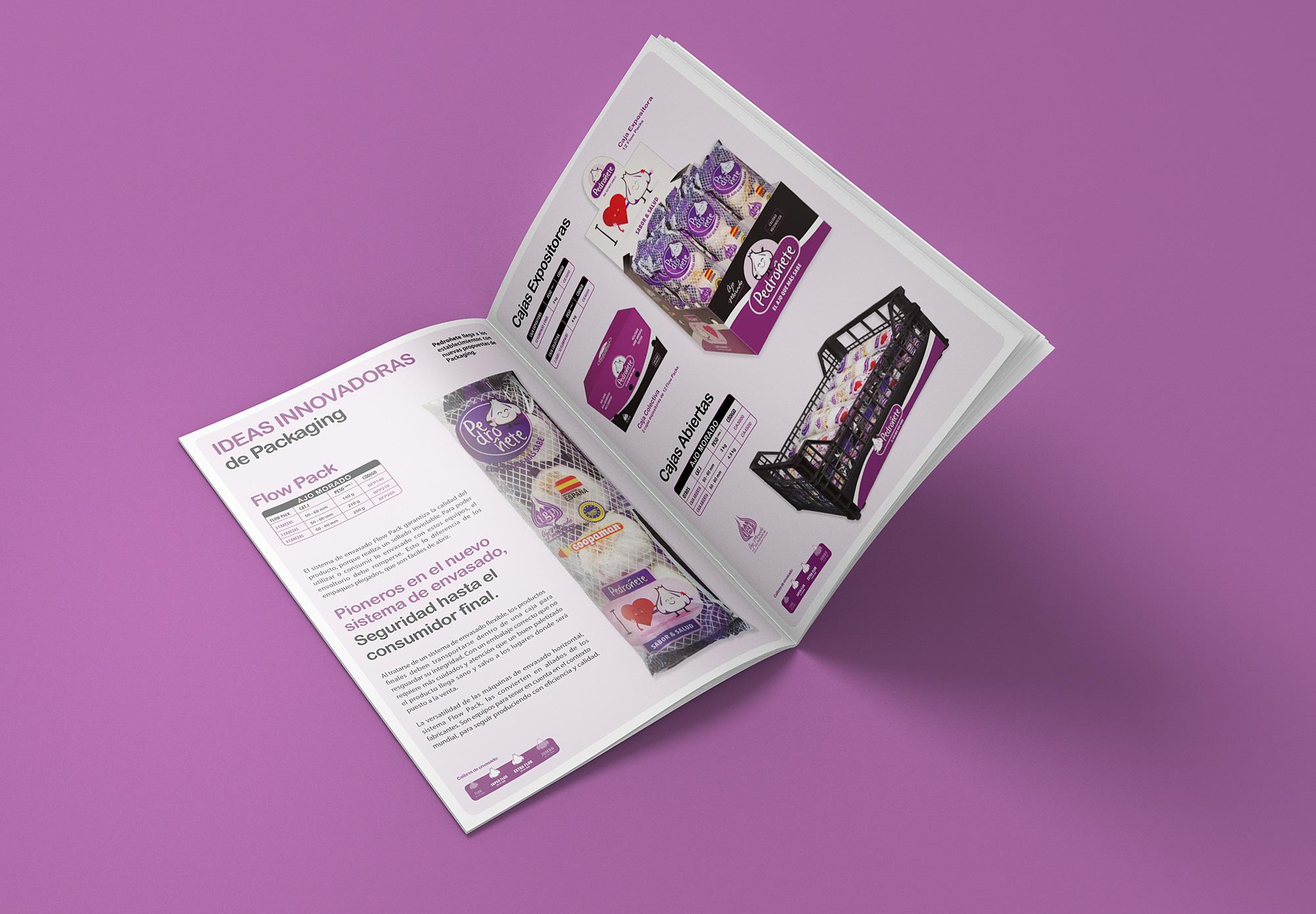 Diseño grafico Albacete, imprenta Albacete y fotografia publicitaria, diseño catalogo de productos varios idiomas Pedroñete