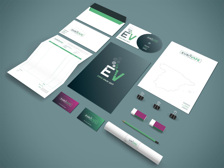 Diseño de Papelería Corporativa Albacete, diseño de logotipo.
