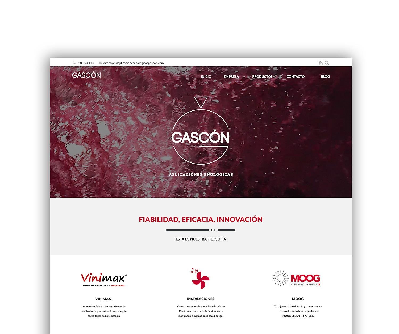 Diseño web albacete, Diseño grafico Albacete, redes sociales y SEO Gascón Aplicaciones Enológicas