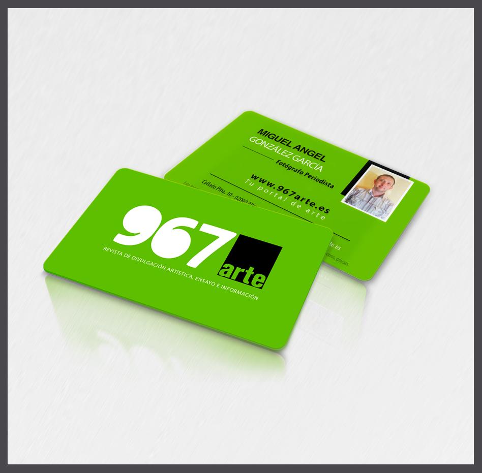 tarjetas plásticas carnet con fotografía
