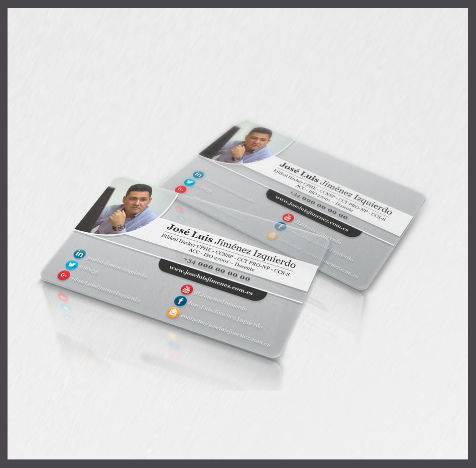 Tarjetas de identificación transparentes de pvc, tarjetas transparentes de identificación