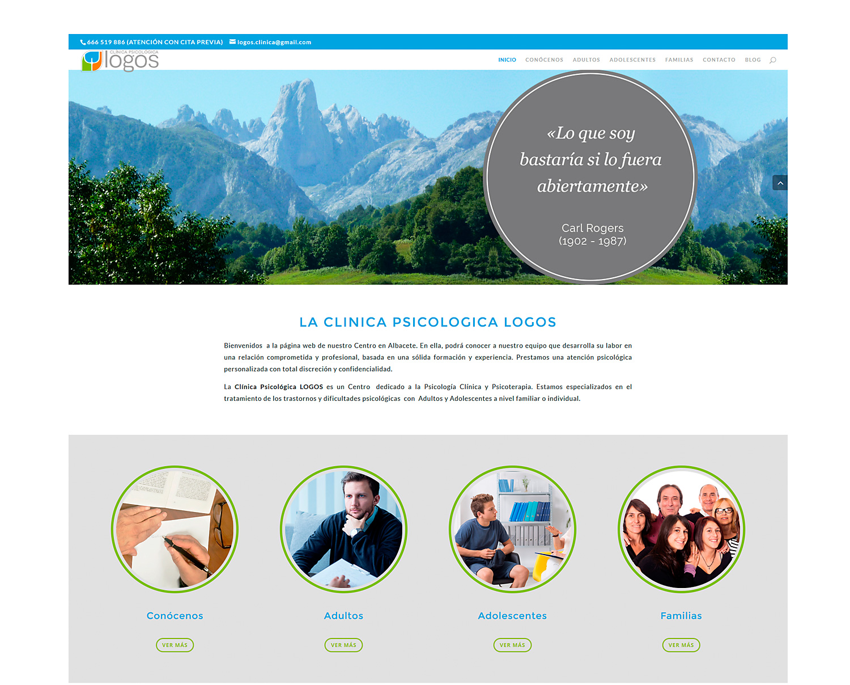 Diseño web Albacete,diseño de páginas web Logos