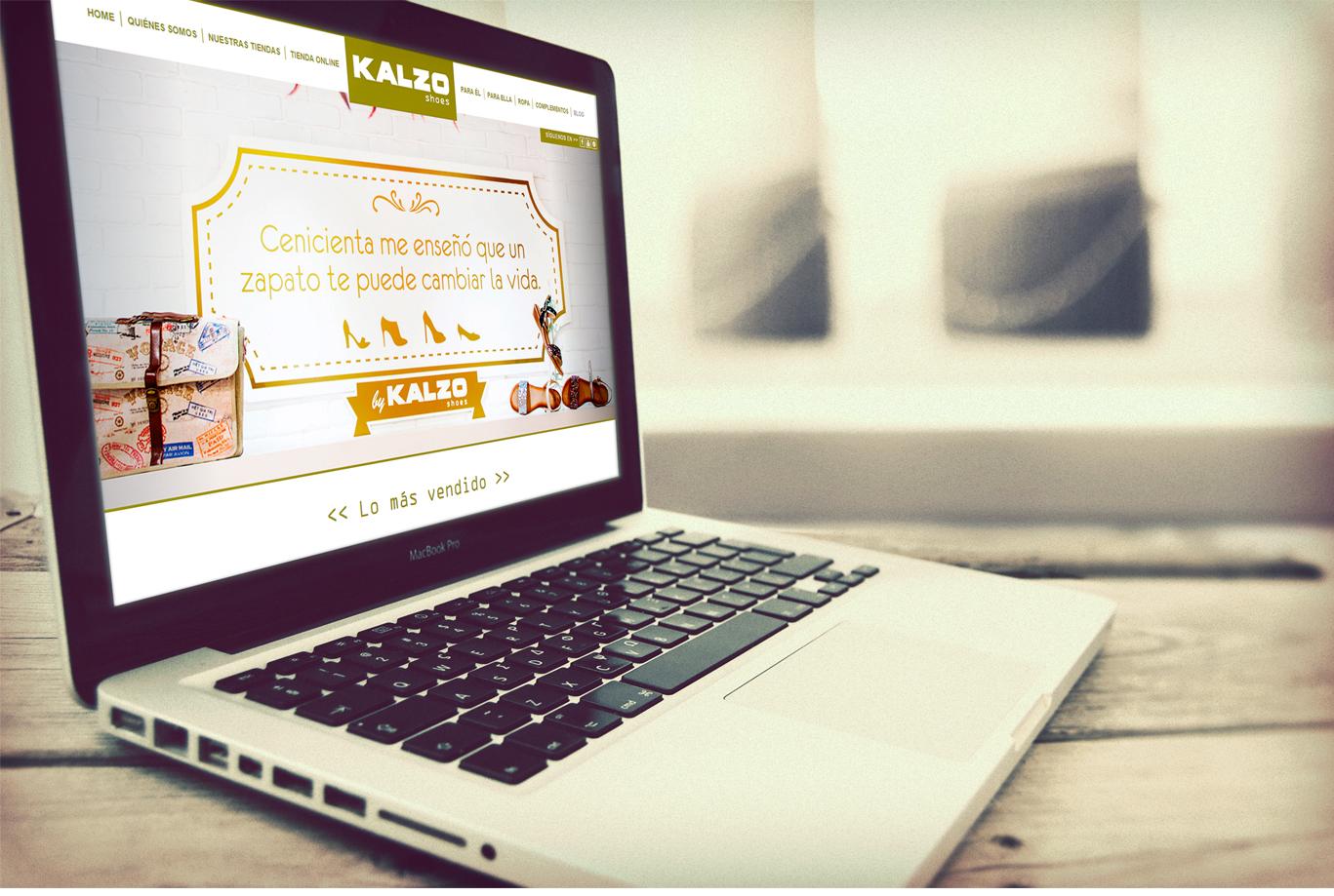 Diseño web, Diseño web Albacete, restyling web, diseño y programación página web de zapaterías Kalzo