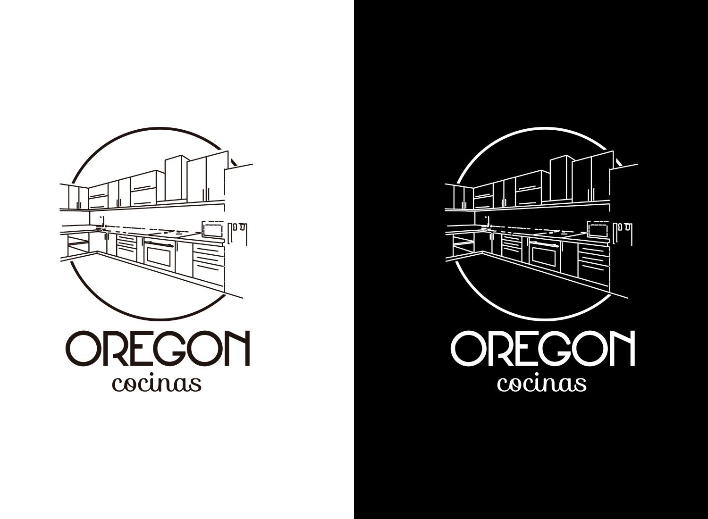 Diseño gráfico Albacete, diseño de imagen corporativa Cocinas Oregón , diseño grafico, branding, restyling de logotipo, diseño web