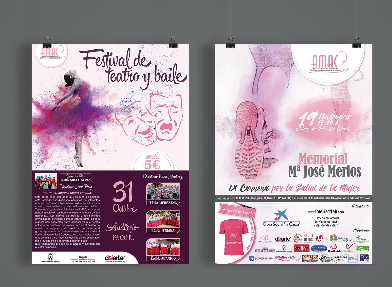 Diseño Gráfico, Diseño de cartelera, Diseño de Cartelera para eventos AMAC